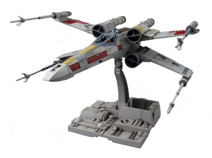 Star Wars Bandai Plastic Model Kit 1/72 X-Wing Starfighter | Buy now at The G33Kery - UK Stock - Fast Delivery japan imported